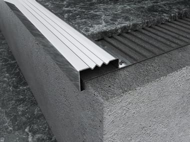 Stainless Stairnose profile MPS-B