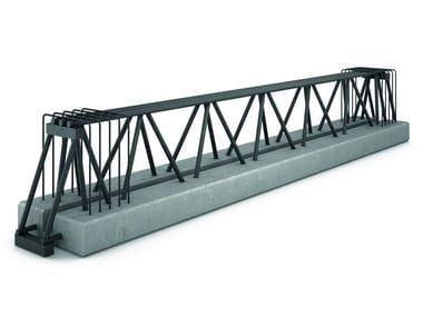 Trave in acciaio-calcestruzzo resistente al fuoco TRAVI MTR® C