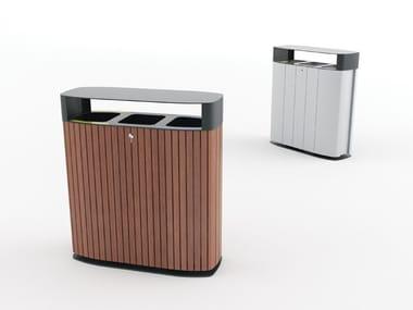 Litter bin for waste sorting MULTIMINIUM
