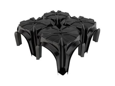 The plastic formwork for ventilated floors MULTIMODULO