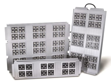 LED extruded aluminium Outdoor floodlight MULTIPLO