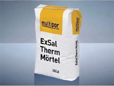 Malta minerale leggera per incollaggio e rasatura armata MULTIPOR EXSAL THERM