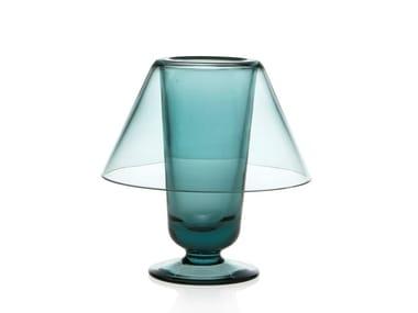 Glass candle holder MUN LUME