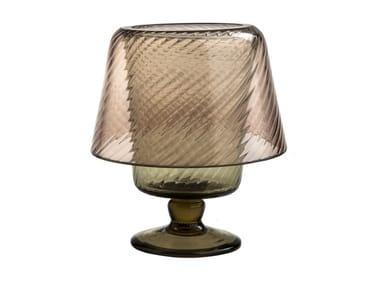 Glass candle holder MUN MINILUME
