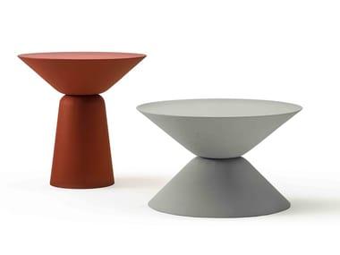 Round Cimento® coffee table MURANO