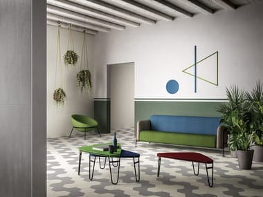 Porcelain stoneware wall/floor tiles MUSA+