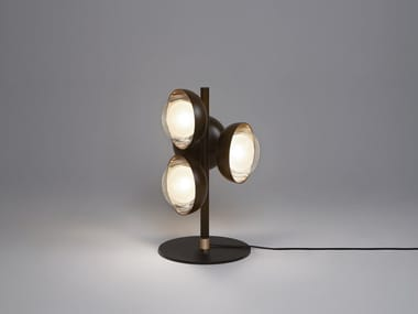 Direct light metal table lamp MUSE | Table lamp