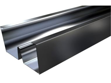 Profilo montante metallico in acciaio MW PLUS C