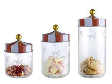 Contenitore per alimenti in vetro serigrafato MW30 | Contenitore per alimenti