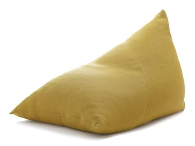 Upholstered cotton bean bag with removable cover MY / MINI MY