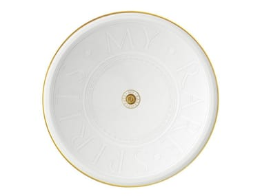 Crystal serving plate MY RARE SPIRITS | Serving plate