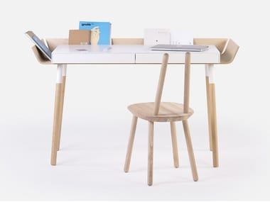 Bureau en bois avec tiroirs pour pc MY WRITING DESK