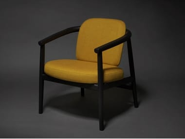 Ash easy chair with armrests MYIDA