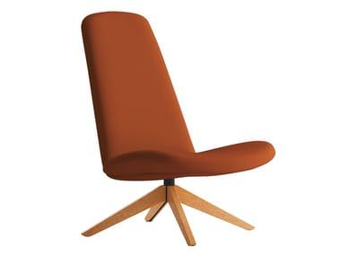 Swivel fabric armchair MYPLACE   Armchair
