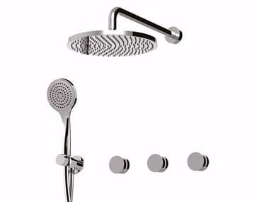 Mitigeur de douche avec douchette avec tête de douche MYRING - FMR0115W2KB