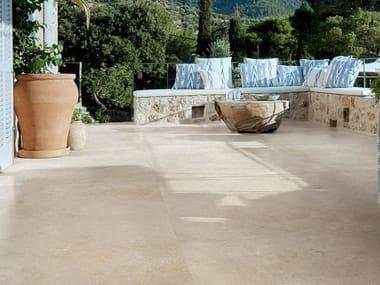 Pavimento/rivestimento in gres porcellanato effetto pietra MYSTONE LIMESTONE