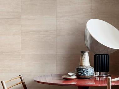 Porcelain stoneware wall/floor tiles with stone effect MYSTONE TRAVERTINO