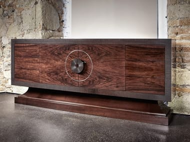 Walnut sideboard with doors Sideboard
