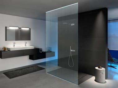 Transparent glass texturized for Led lighting MADRAS® PUNTO-N CRISTALLI