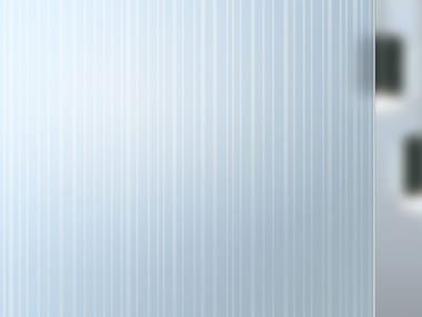Satin glass MADRAS® STRIP M/V DOUBLE FACE
