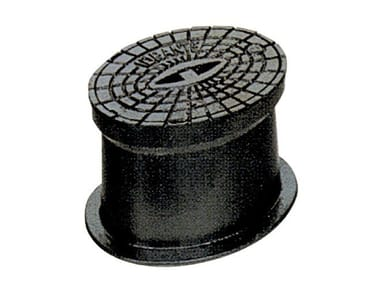 Manhole cover and grille for plumbing and drainage system Manhole for underground hydrant