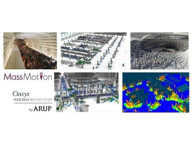 Advanced pedestrian simulation and crowd analysis Mass Motion Oasys