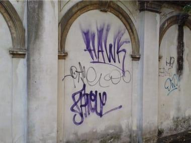 Barriera trasparente idrorepellente antigraffiti MasterProtect 2300