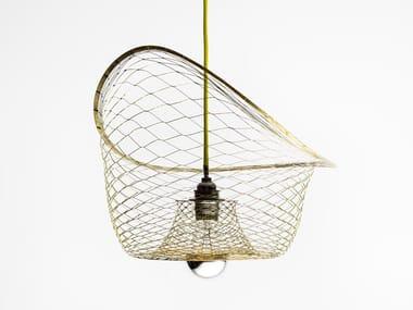 Lampada a sospensione in ottone MELAMP AURORA 40 - BOWL | Lampada a sospensione