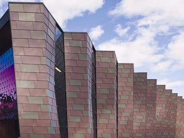 Sistema di facciata e di copertura in zinco VMZ SCANDOLE