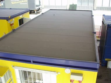 Metal sheet and panel for roof Modular roofing systems