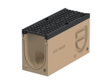Elemento di ispezione per canale di drenaggio Monoblock PD150 V - Elemento d'ispezione
