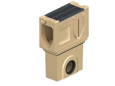 Pozzetto di scarico in calcestruzzo polimerico Monoblock RD 150 V - Pozzetto di scarico