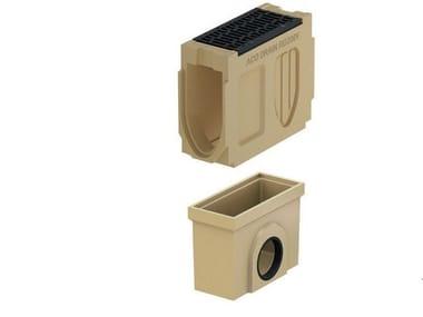 Pozzetto di scarico in calcestruzzo polimerico Monoblock RD 200 V - Pozzetto di scarico