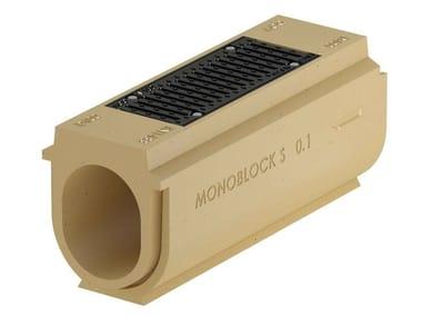 Elemento d'ispezione in calcestruzzo polimerico Monoblock S - Elemento d'ispezione