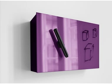 Pen holder for magnetic whiteboards Mood Box