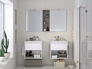 Mobili bagno con specchio MOOVE 01
