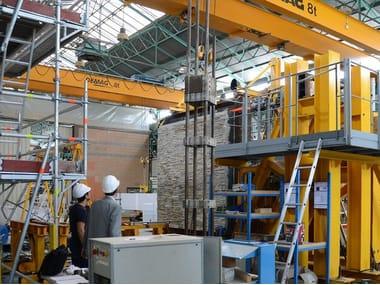 Sistema integrato per la posa della pietra ricostruita Murogeopietra