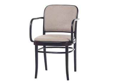 Fabric chair with armrests N° 811 | Chair with armrests