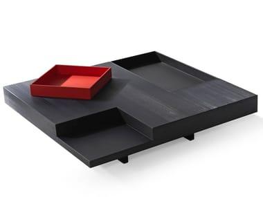 Tavolino basso quadrato in legno N.Y. | Tavolino quadrato