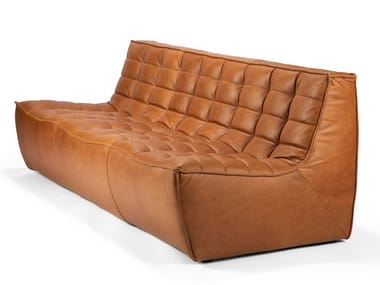 3 seater leather sofa N701 | Leather sofa