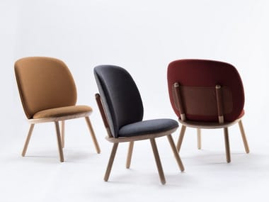 Fabric armchair NAÏVE | Armchair