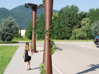 LED Corten™ street lamp NABOO | LED street lamp