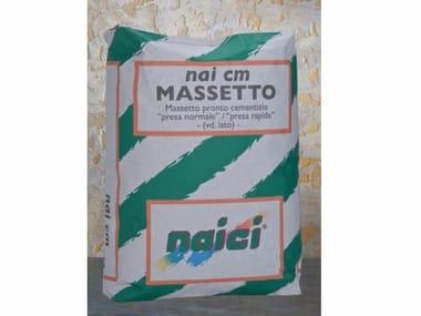 Betoncino per la realizzazione di massetto di sottofondo NAI CM MASSETTO