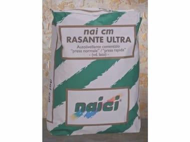 Rasante polivalente fibrorinforzato idrofugato antiritiro NAI CM RASANTE ULTRA