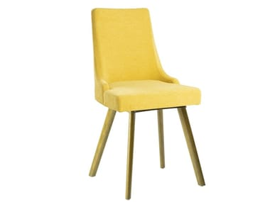 Upholstered fabric chair NANCY SE01 BASE 14