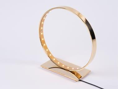 LED steel table lamp NANO