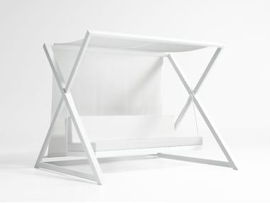 3-er Gartenschaukel aus Aluminium NAO - NAO
