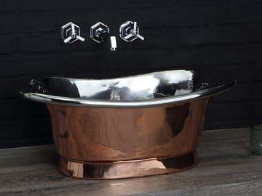 Countertop copper washbasin NAPOLEON