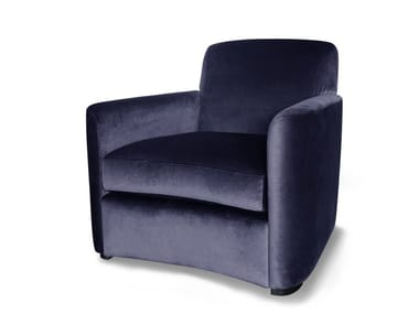 Fabric armchair with removable cover NARA | Armchair