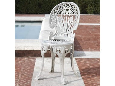 Aluminium garden chair NARCISI | Chair